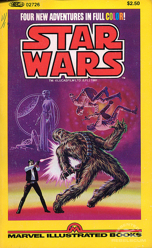 Star Wars Illustrated Book #1
