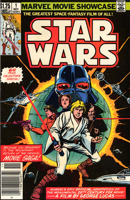 Marvel Movie Showcase Featuring Star Wars #1