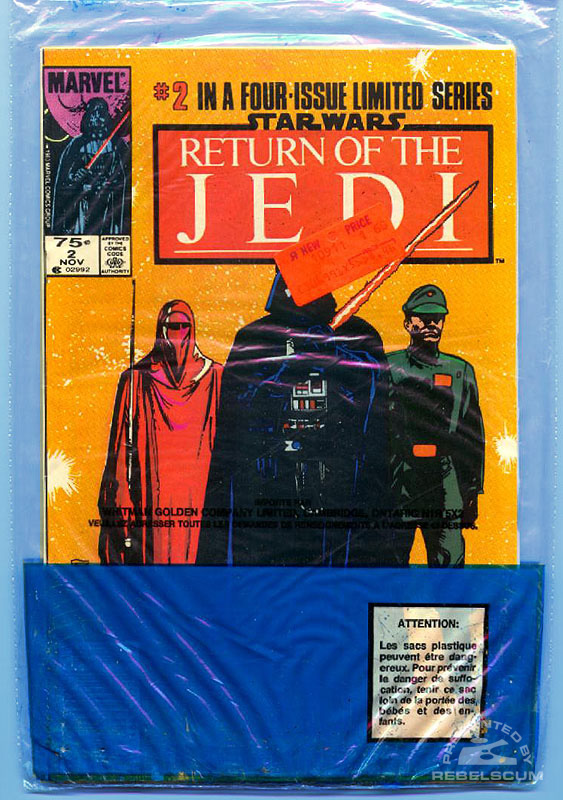Marvel Return of the Jedi 1-2 (Bagged back)