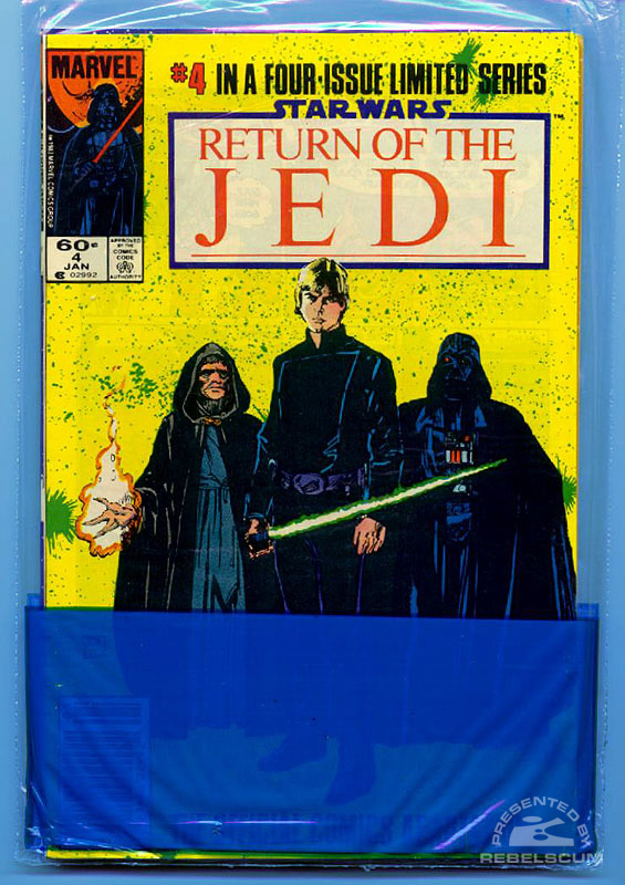 Marvel Return of the Jedi 1-4 (Bagged back)