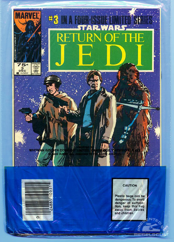 Marvel Return of the Jedi 3-4 (Bagged)