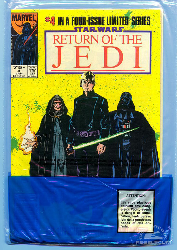 Marvel Return of the Jedi 3-4 (Bagged back)