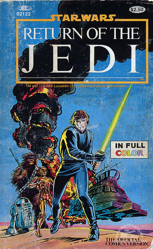 Marvel Comics Illustrated Version of Return of the Jedi