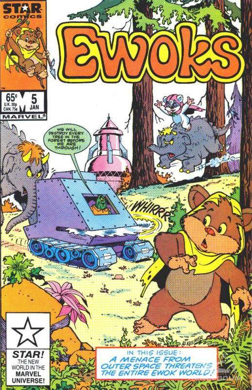 Ewoks 5 (direct market edition)