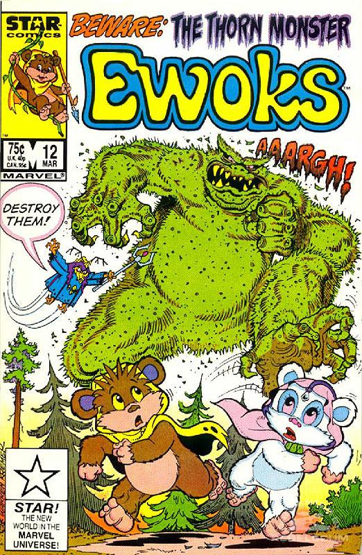 Ewoks 12 (direct market edition)