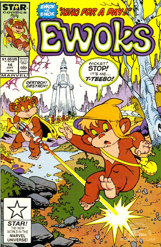 Ewoks 14 (direct market edition)