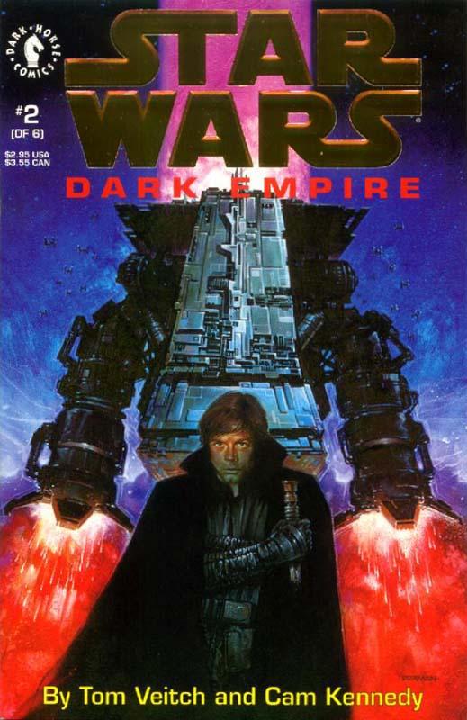 Dark Empire #2 (Gold Logo)