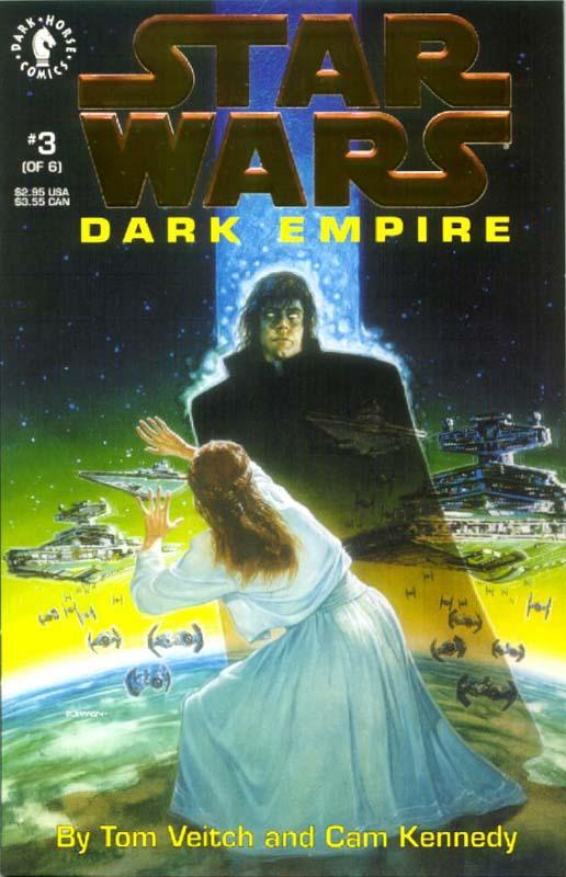 Dark Empire #3 (Gold Logo)