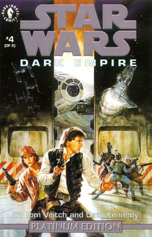Dark Empire #4 (Platinum Edition)