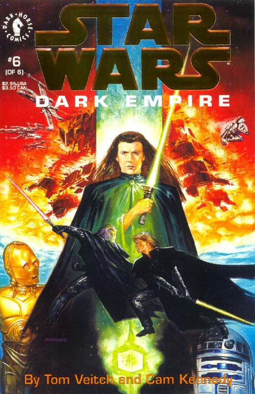 Dark Empire #6 (Gold Logo)