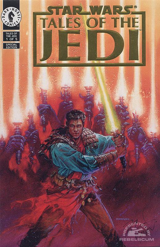 Tales of the Jedi 1 (Gold Foil Logo set)