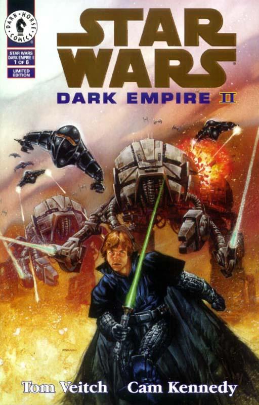 Dark Empire II #1 (Gold Logo)