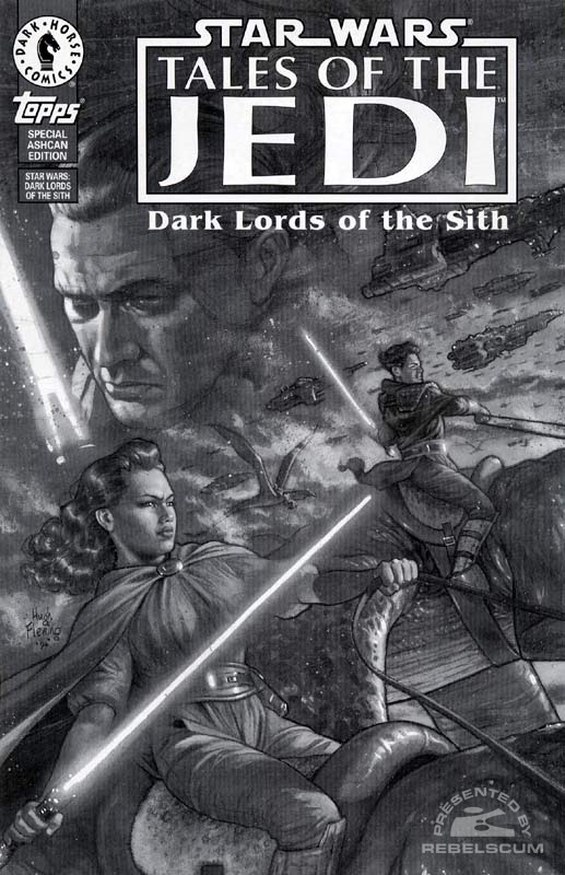 Tales of the Jedi - Dark Lords of the Sith/Topps Special Ashcan Edition