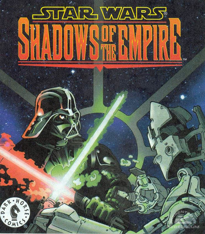 Shadows of the Empire Mini Comic [Galoob]