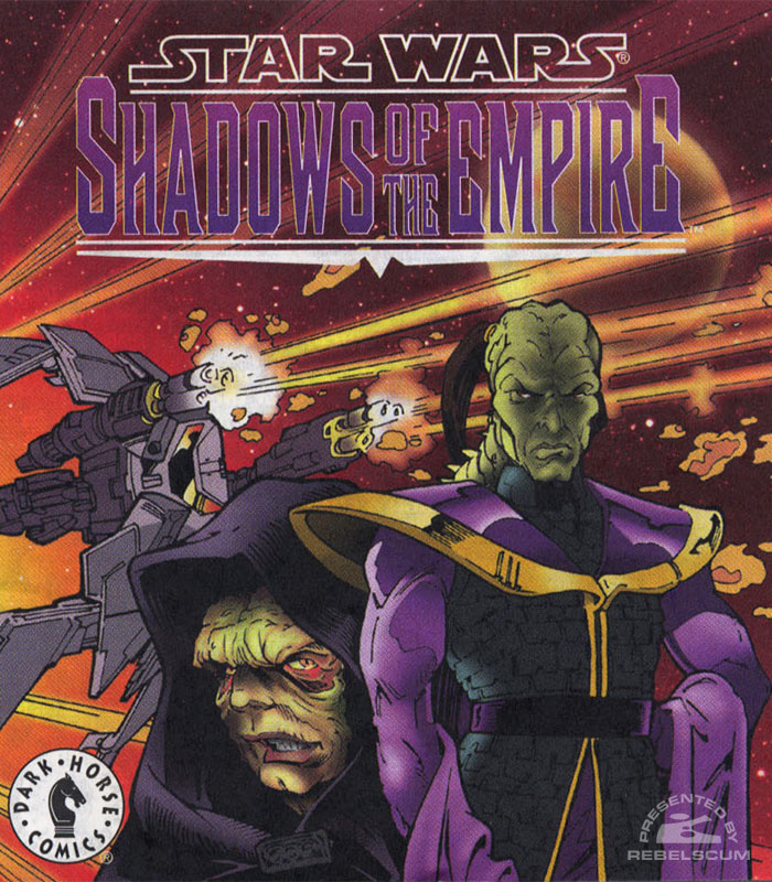Shadows of the Empire MicroMachines cover 2