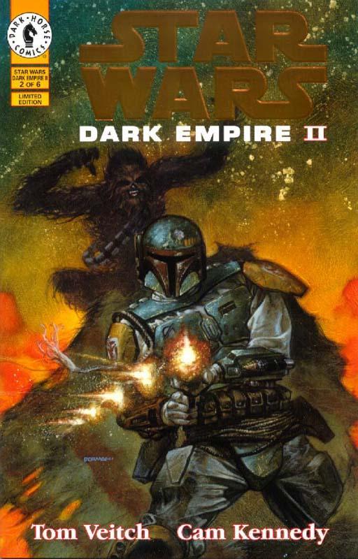 Dark Empire II #2 (Gold Logo)