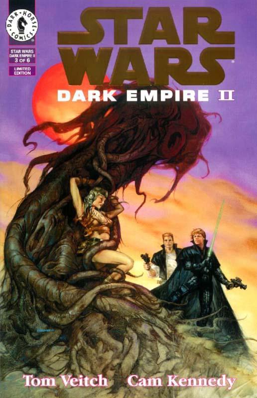 Dark Empire II #3 (Gold Logo)