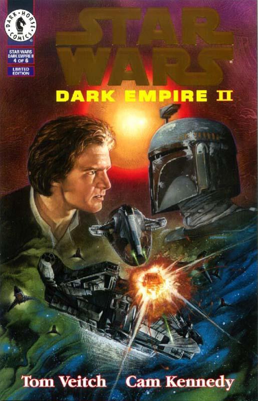 Dark Empire II #4 (Gold Logo)