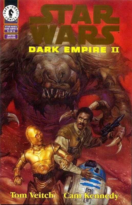 Dark Empire II #5 (Gold Logo)