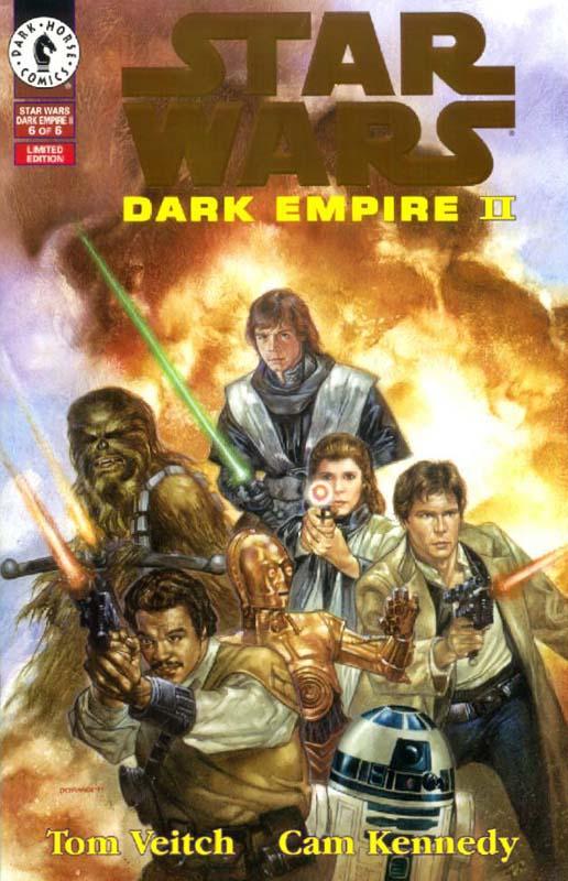 Dark Empire II #6 (Gold Logo)