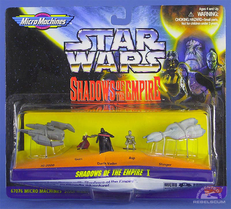 Shadows of the Empire MicroMachines Series I