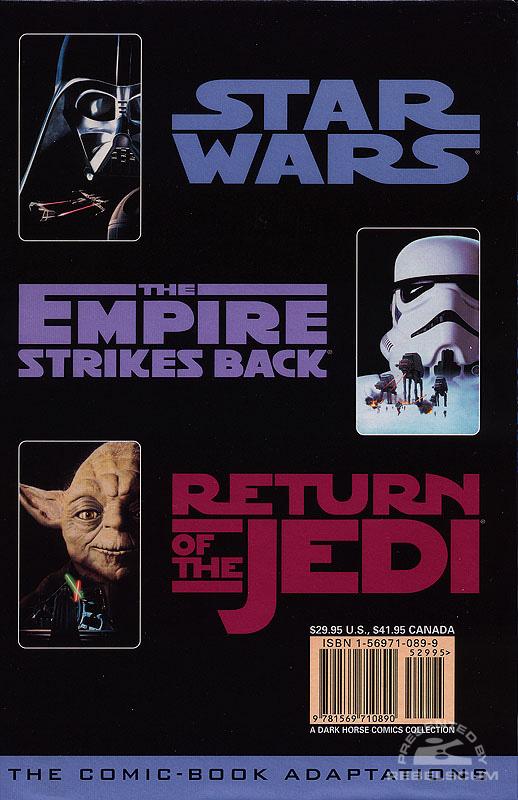 Classic Star Wars Box Set (Back)