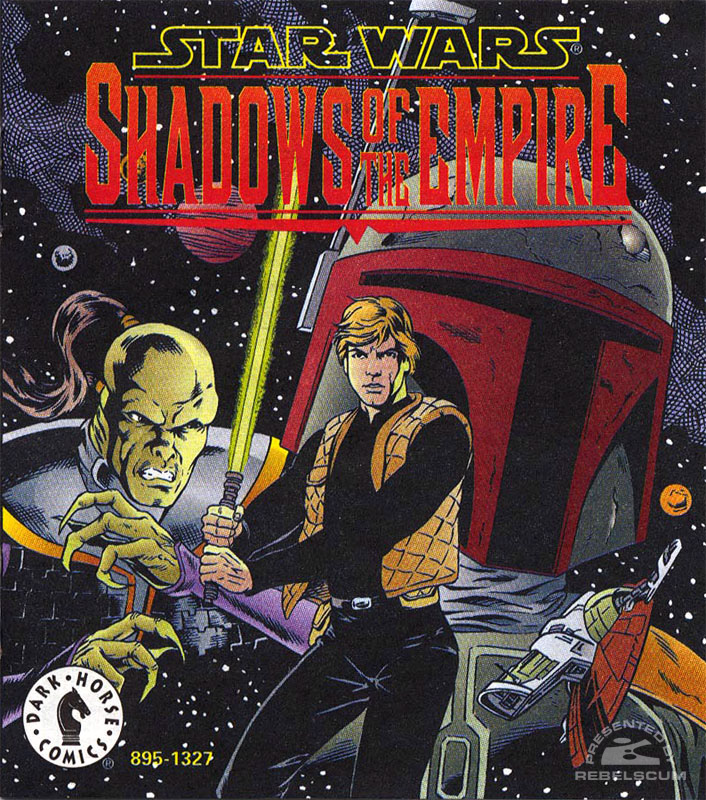 Shadows of the Empire Mini Comic [AMT/ERTL]
