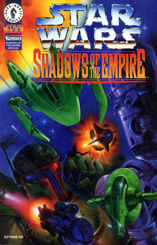 Shadows of the Empire Kenner Bonus Comic 1 (Boba Fett vs IG-88)