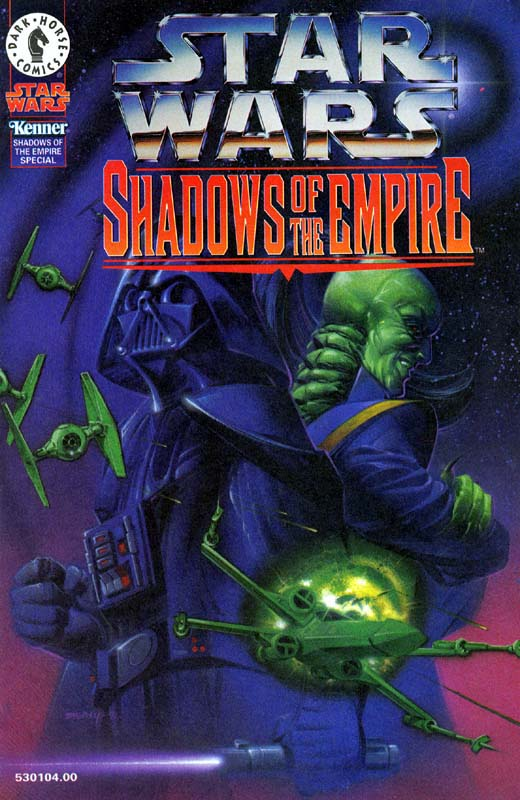 Shadows of the Empire Kenner Bonus Comic 2 (Darth Vader vs Prince Xizor)