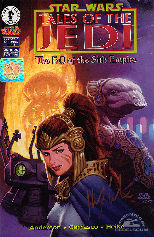 The Fall of the Sith Empire 1 (American Entertainment Exclusive cover by Den Beauvais)