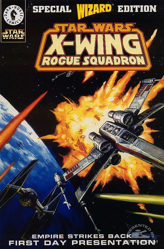 X-Wing Rogue Squadron Wizard Special Edition (ESB First Day Presentation)