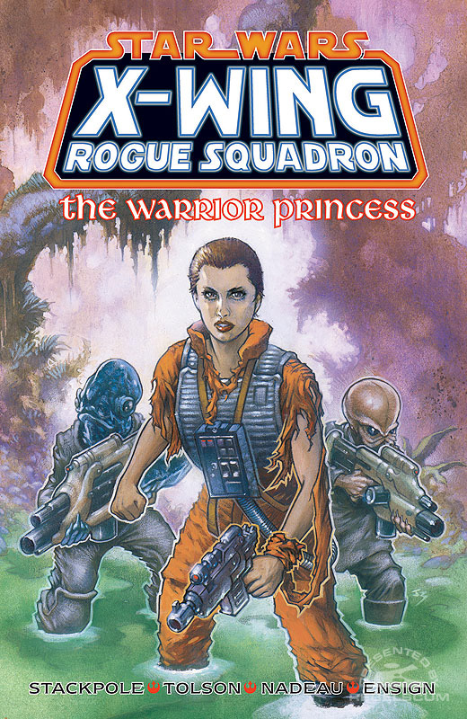 X-Wing Rogue Squadron – The Warrior Princess Trade Paperback