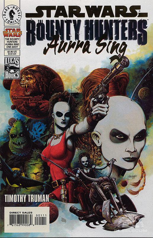 Bounty Hunters — Aurra Sing (Gold Logo Dynamic Forces Edition)
