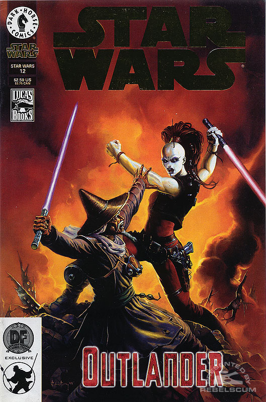Star Wars #12 (Dynamic Forces Exclusive Gold Logo)