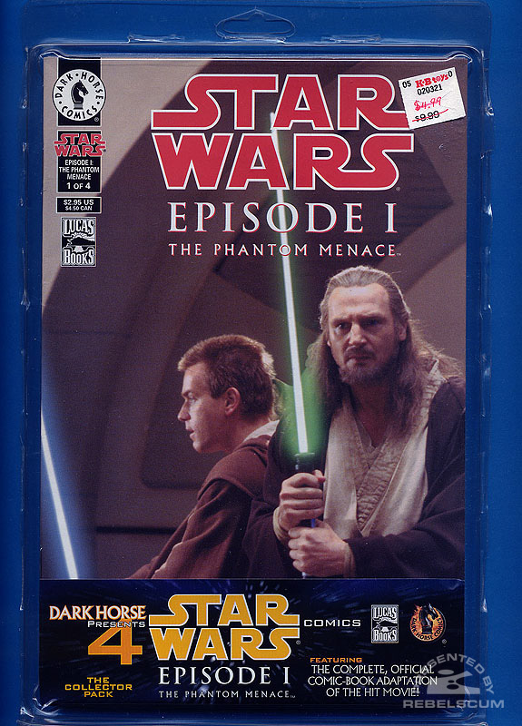 Episode I – The Phantom Menace Comic Pack