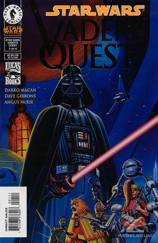 Vader's Quest #1 (Gold Logo)
