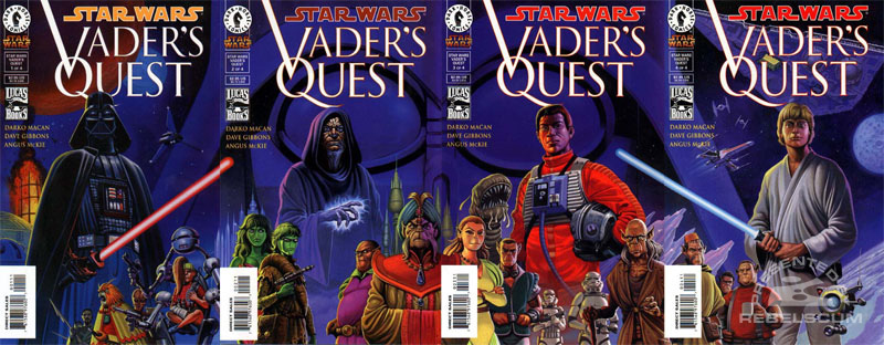 Vader's Quest Assembled Covers
