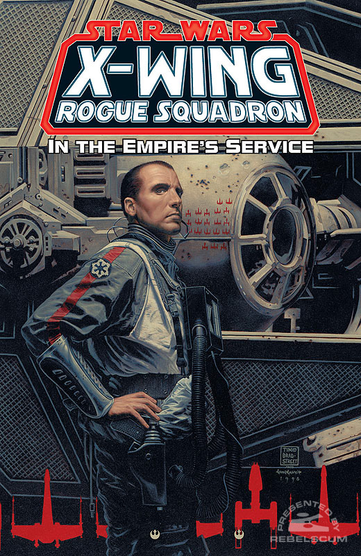 X-Wing Rogue Squadron – In the Empire's Service Trade Paperback