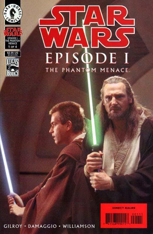 The Phantom Menace 1 Photo Cover