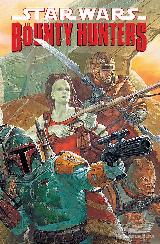 The Bounty Hunters Trade Paperback