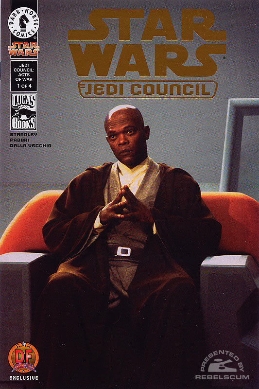 Jedi Council - Acts of War #1 (Dynamic Forces Cover)