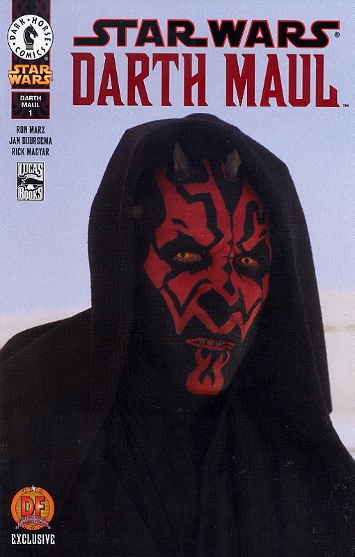 Darth Maul 1 Dynamic Forces Photo Cover