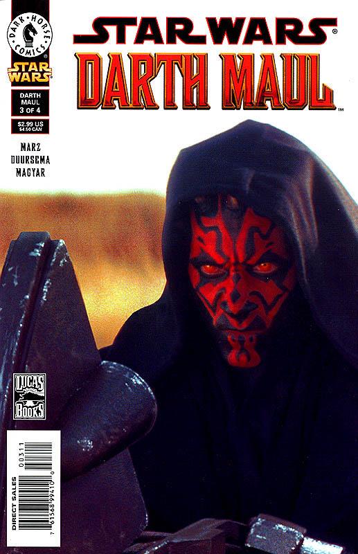 Darth Maul 3 Photo Cover