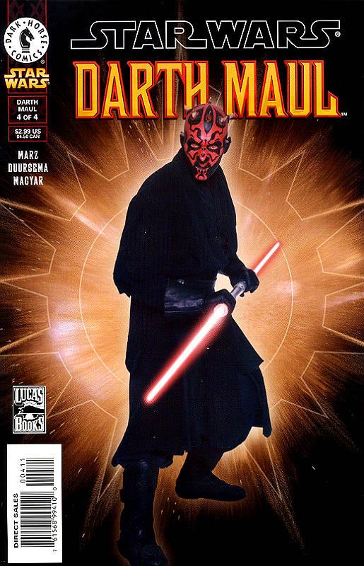 Darth Maul 4 Photo Cover
