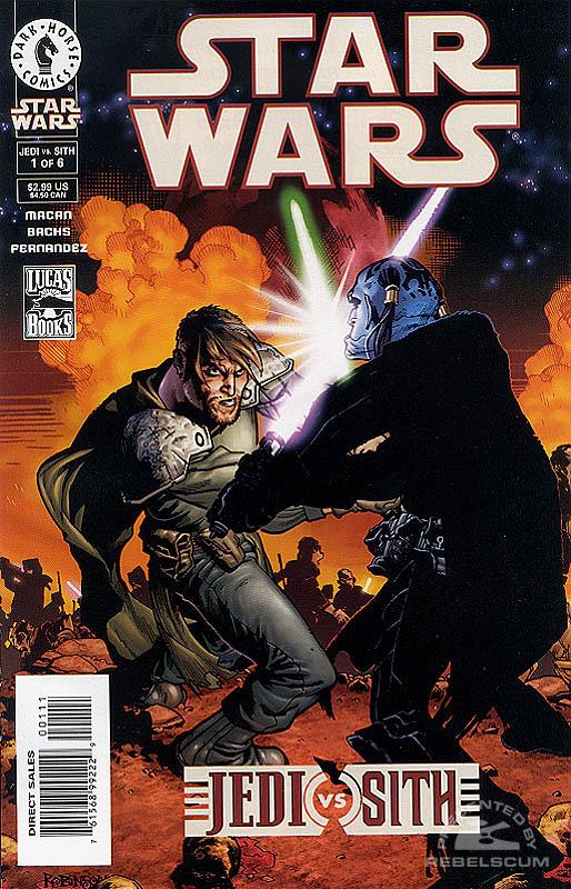 Jedi vs. Sith #1