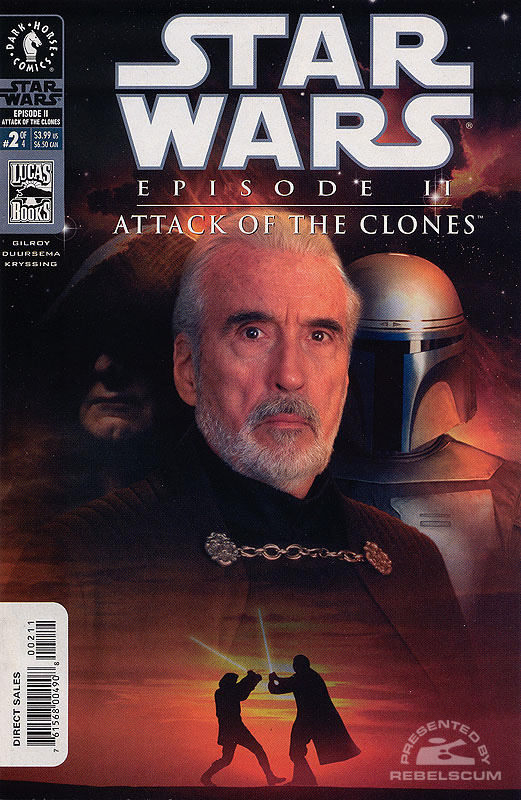 Episode II - Attack of the Clones #2 (photo cover)
