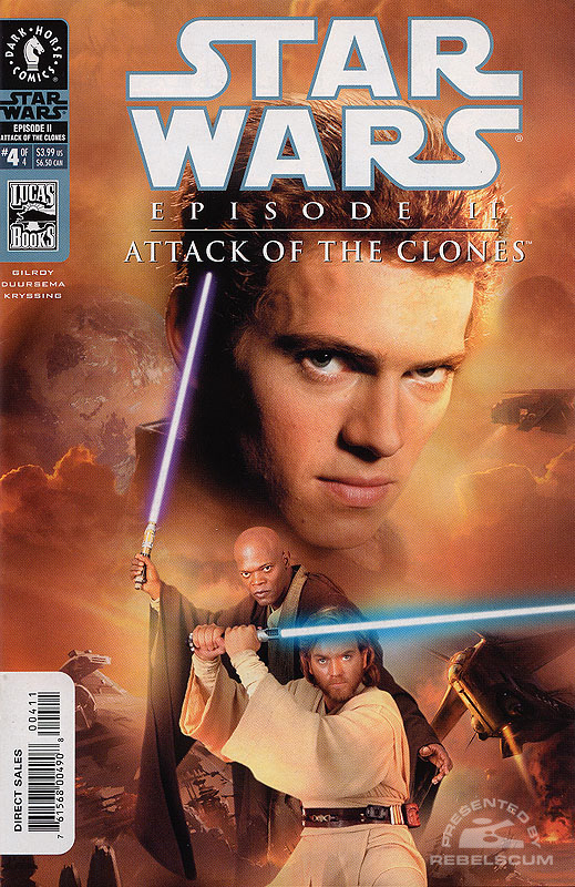 Episode II - Attack of the Clones #4 (photo cover)