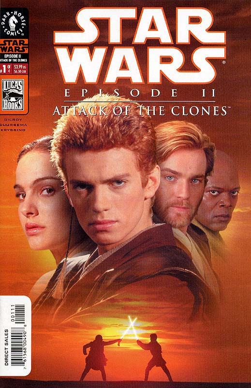 Episode II - Attack of the Clones #1 (photo cover)