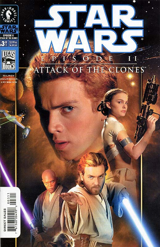 Episode II - Attack of the Clones #3 (photo cover)