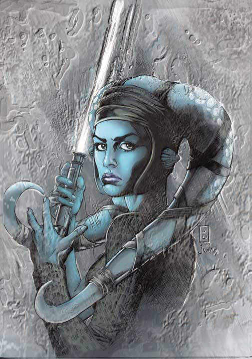 Jedi - Aayla Secura (Solicitation Cover)